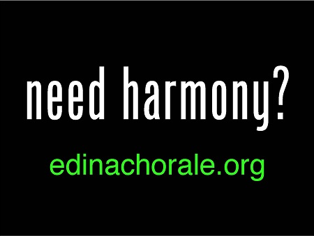 Need Harmony Yard Sign