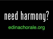 Need Harmony Yard Sign - click to view details