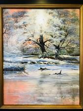 WINTER ON THE CREEK - click to view details
