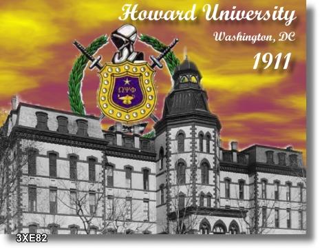 Founded at Howard University, 1911
