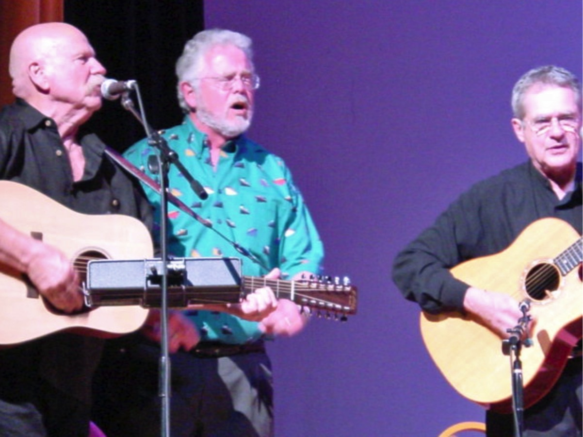 Bill Klausman, Barry McGuire and Art Podel