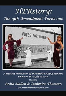 HERstory: The 19th Amendment Turns 100!