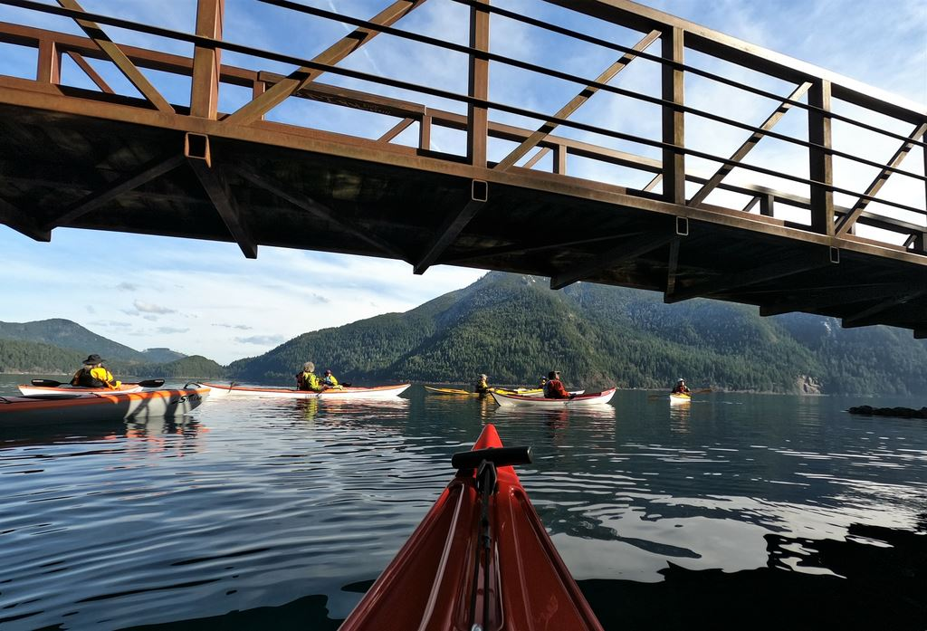 March 2021 Lake Crescent Paddle