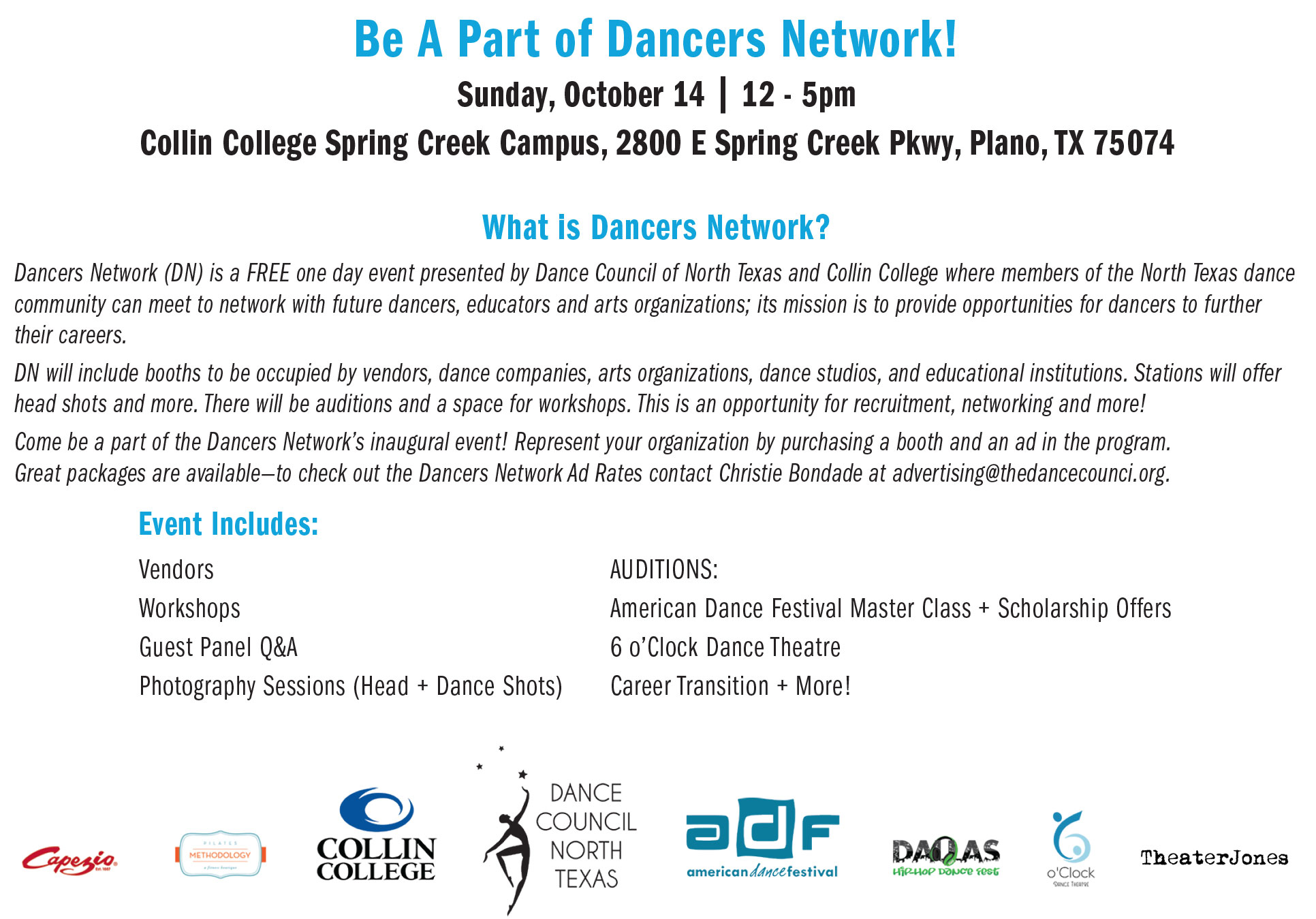 Dancers Network - Dance Council of North Texas
