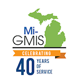 Mi-GMIS 40th Anniversary graphic