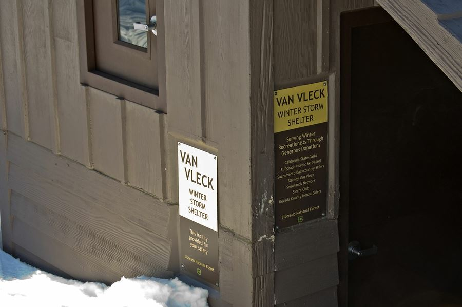 Ski to the Van Vleck Shelter