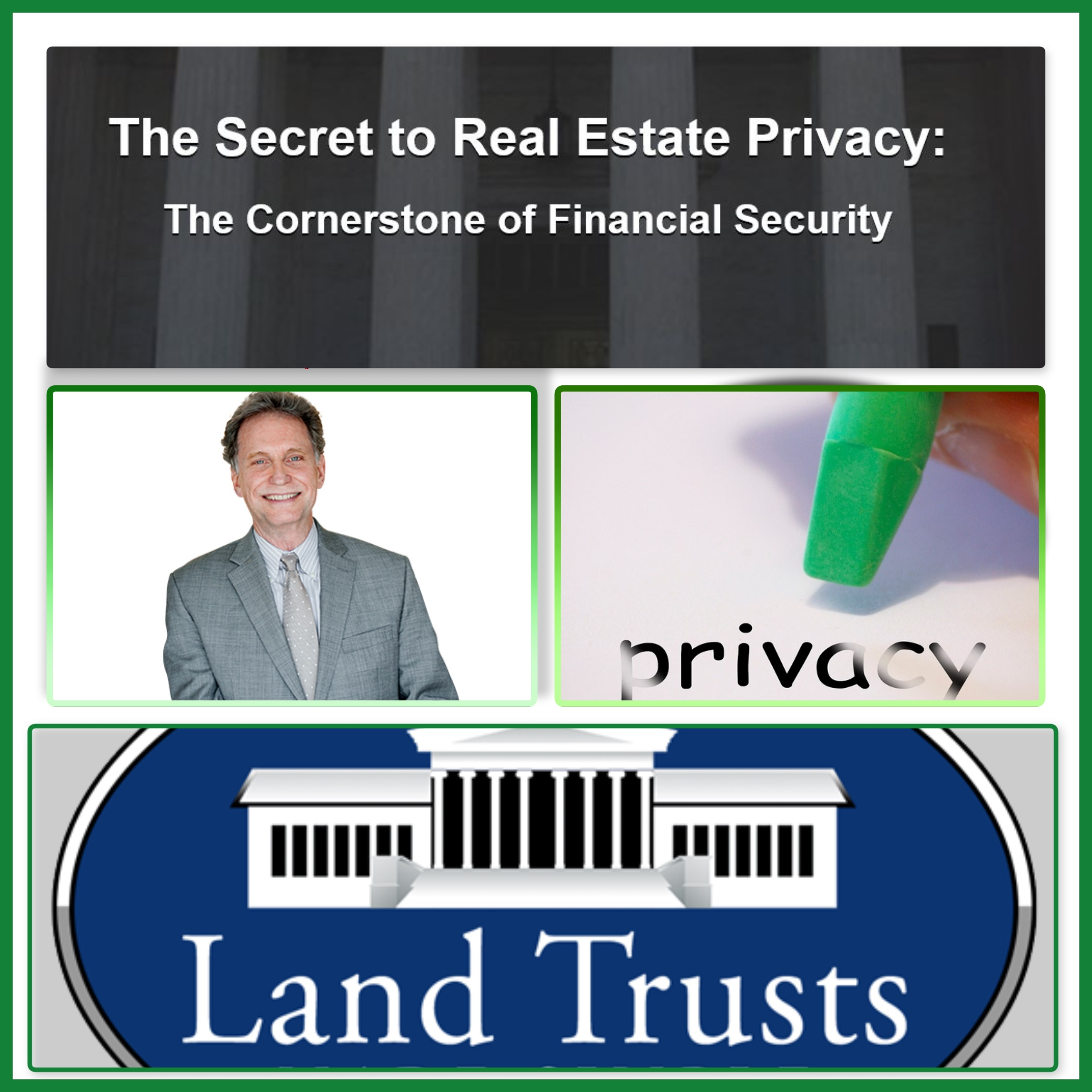 Randy Hughes Mr Land Trust and Privacy