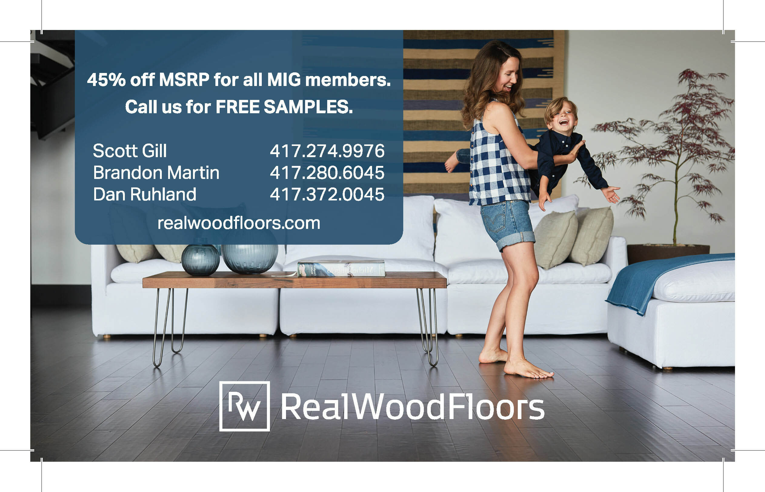 Real Wood Floors Ad