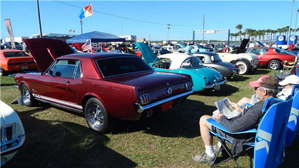 Photos of 2018 Mustangs & Mustangs...Legends Havin' Fun show