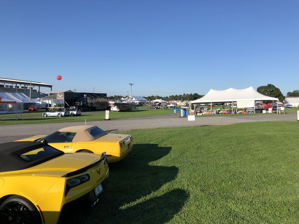 2018 Corvettes at Carlisle