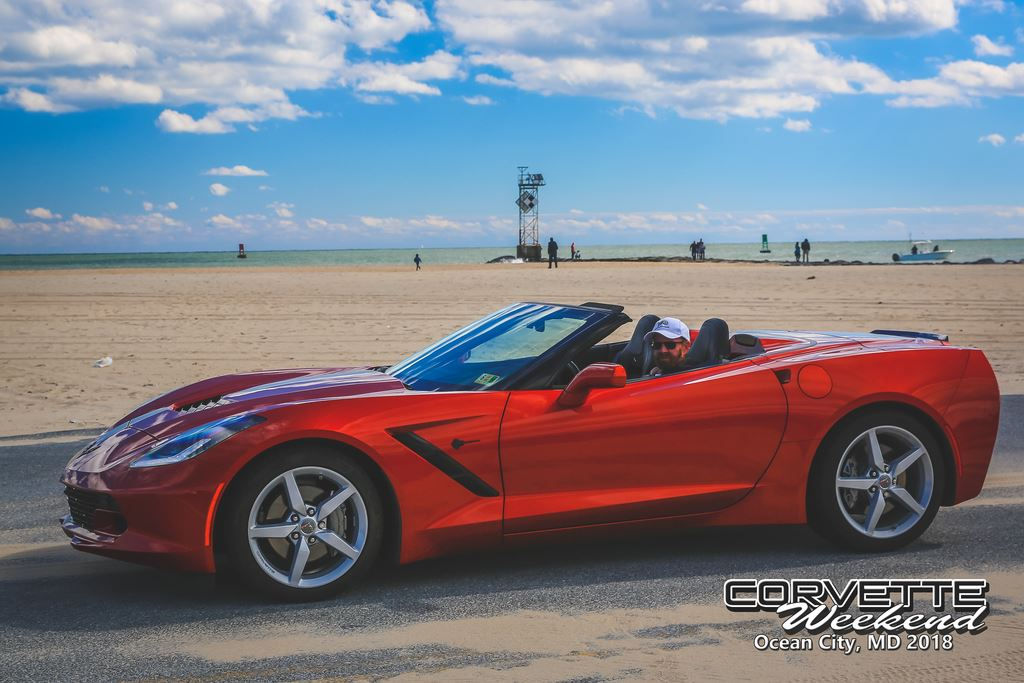 2018 Ocean City Corvette Weekend
