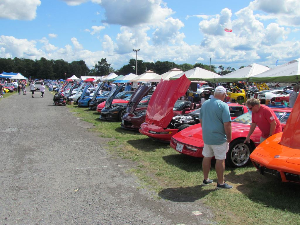 ODCC attended the 2019 Corvettes at Carlisle show