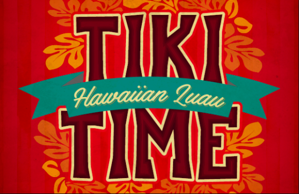 tiki time hawaiian luau