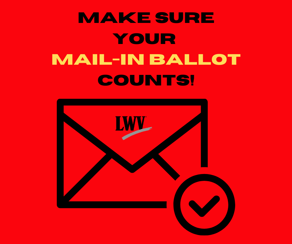Mail-in ballot tips