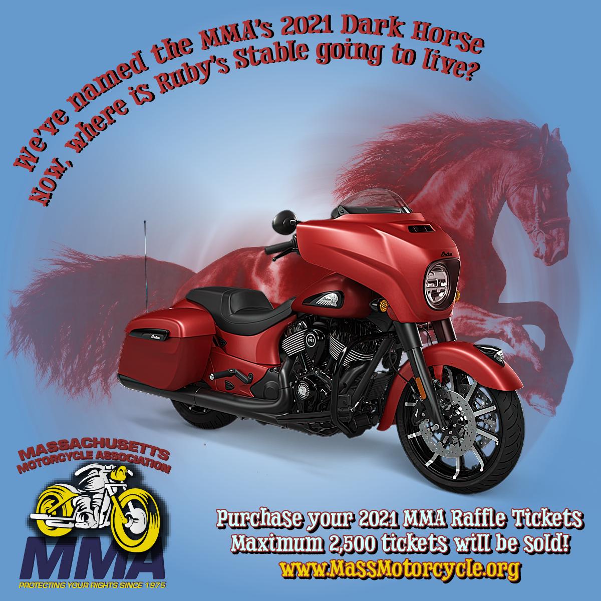 MMA 2021 Raffle Bike