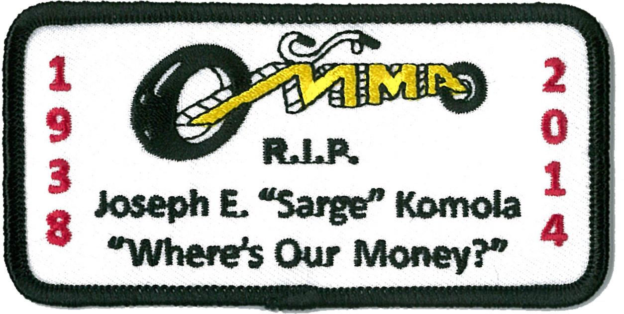 Sarge Memorial Patch