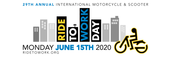 Ride To Work 2020 Banner