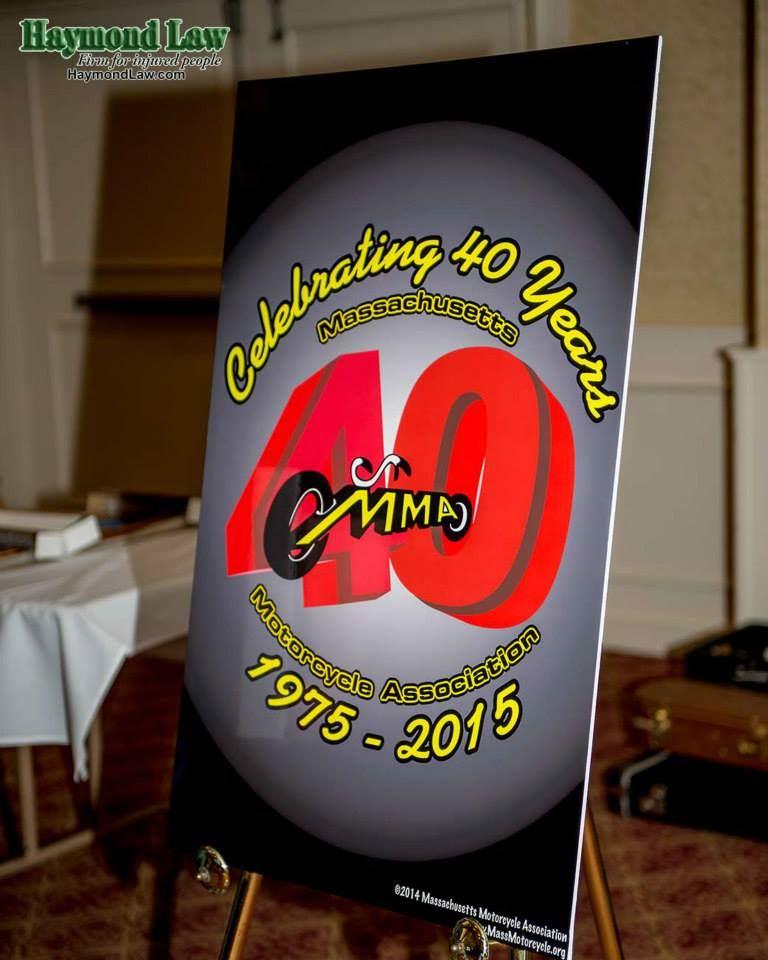 MMA 40th Anniversary Logo