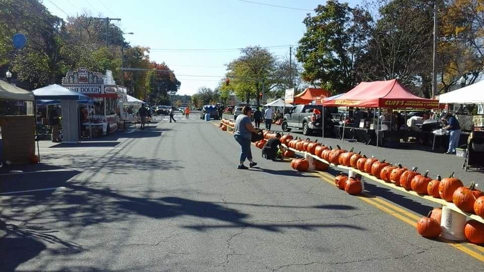 Great Falls Festival (PumpkinFest) in Turners Falls - 21 October 2017