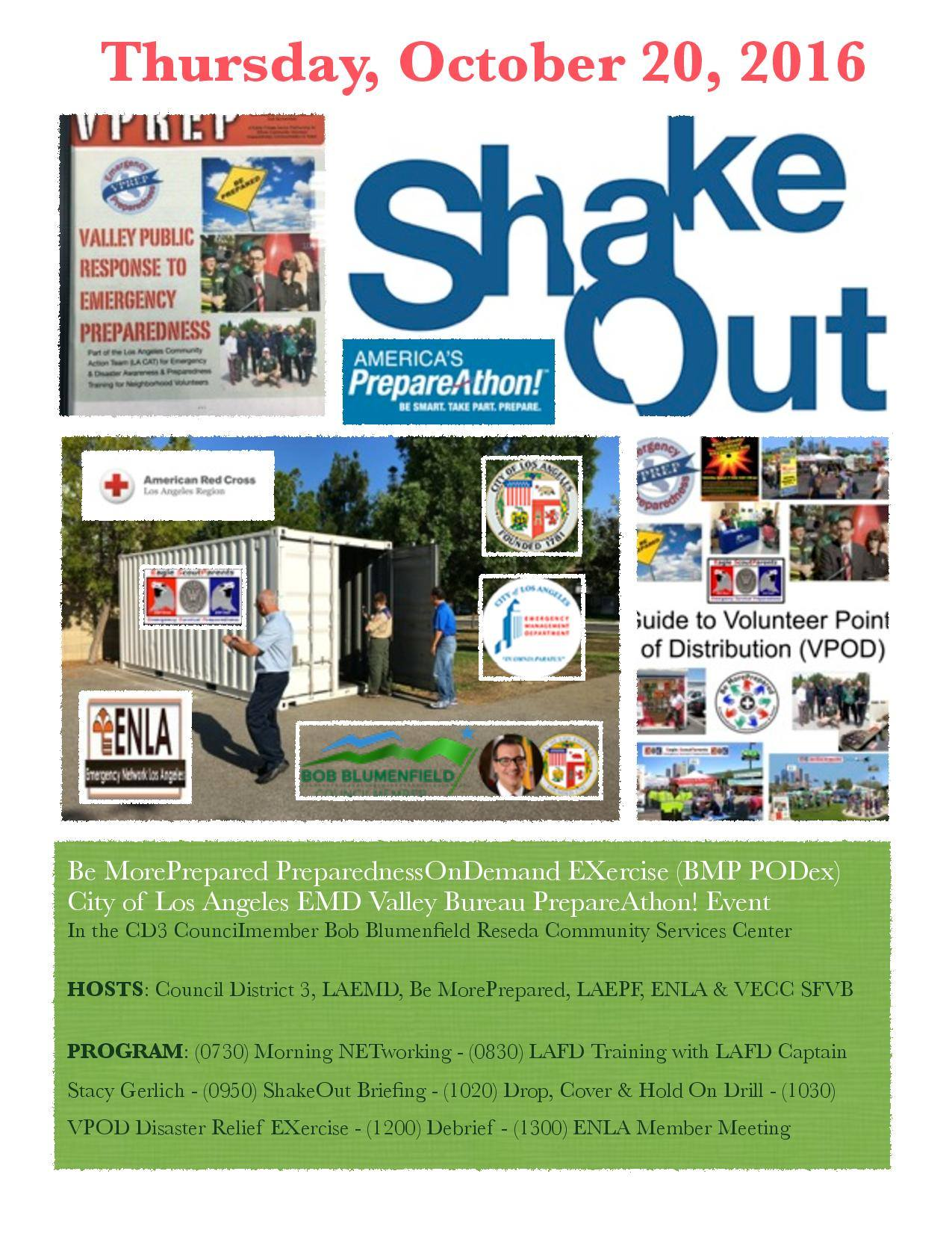 Shakeout 2015