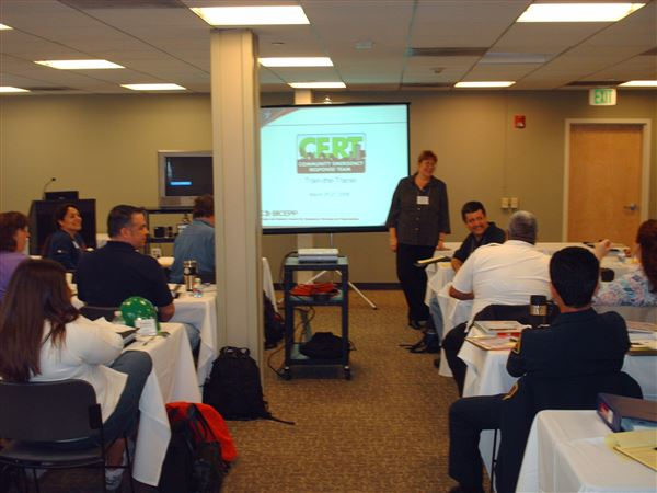 BICEPP sponsored CERT Train the Trainer 2008