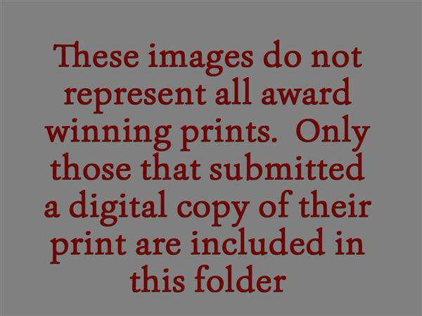 Digital copies of the award winning prints