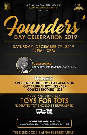 The inaugural Founders' Day Luncheon