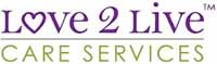 Love 2 Live Care Services Logo