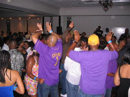 That evening, the Old School Party was held at the Best Western in Oxon Hill