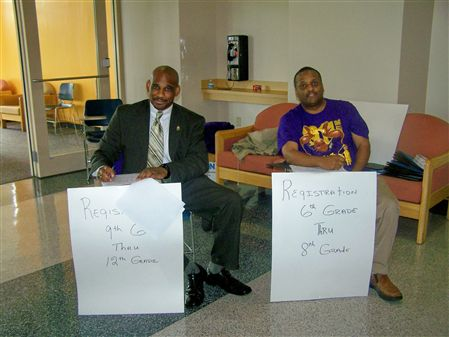 "Lambda Gamma Gamma Chapter of the Omega Psi Phi Fraternity, Inc. 2009 Youth Leadership Conference (""YLC"") @ Bowie State University."
