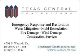 Texas General Contractors