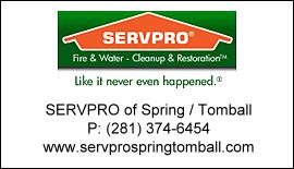 Servpro Spring/Tombal