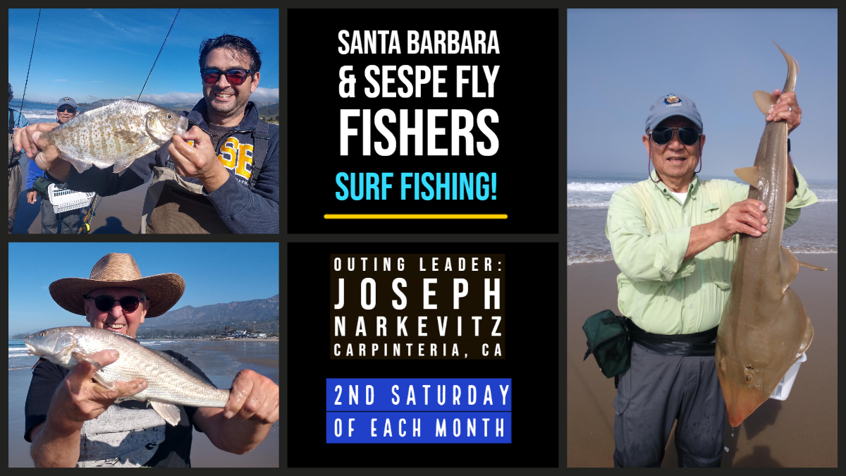 SURF FISHING WITH SANTA BARBARA FLY FISHERS