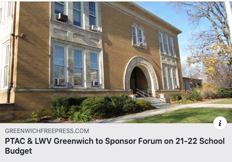 GFP 2/11/21 - LWV Greenwich BOE Forum