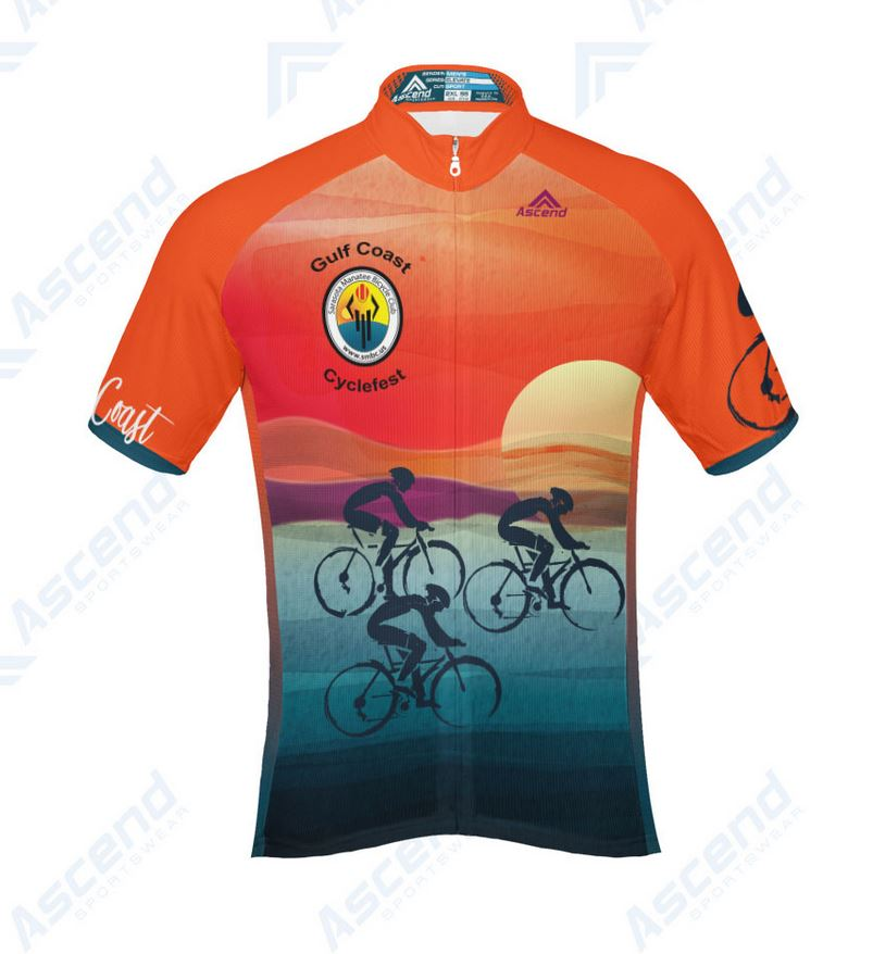 Cyclefest 2018 Jersey front