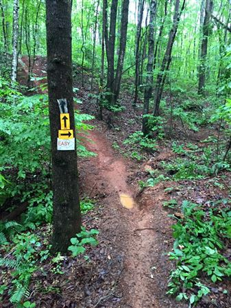 More new trail and optional trails in No Mans Land.