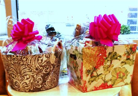 2012 Scholarship Fund Gift Baskets - Winners were Marlena Berger and Cheryl Garcia