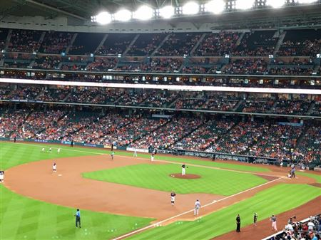 TPG members and guests went out to cheer for the Astros at the Astors vs. Rangers game. Very exciting game and a fun time to be had by all!