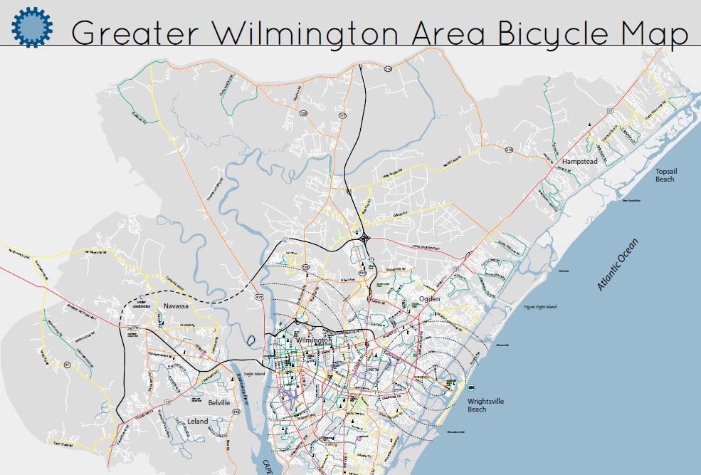 Monkey Junction Nc Map.Regional Cycling Resources Cape Fear Cyclists