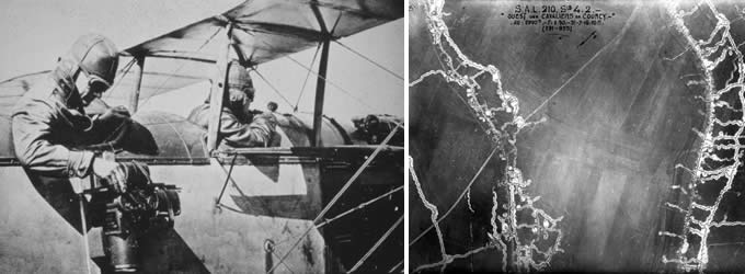 Aerial photography during World War I