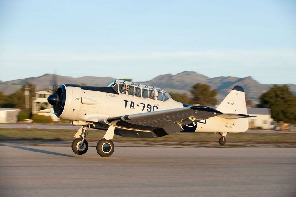 California Warbirds AT-6D N6979C