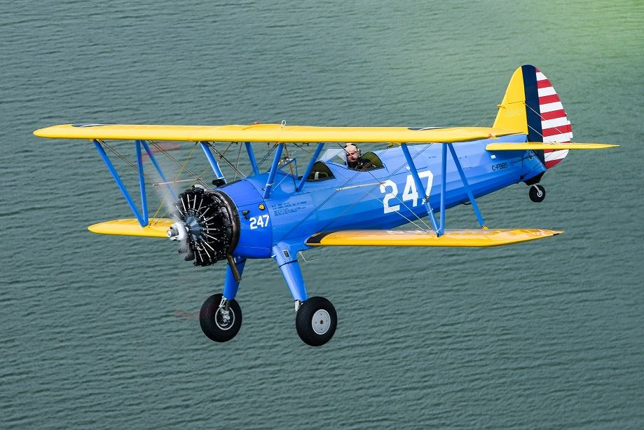 1943 Boeing/Stearman B75N1  Serial #75-7850R680-13 -300hp