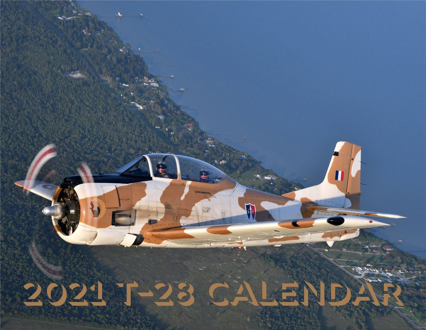 My 11th year designing a T-28 calendar dedicated to the T-28, the aircraft and the pilots featuring photographs from many talented aviation photographers from around the world.