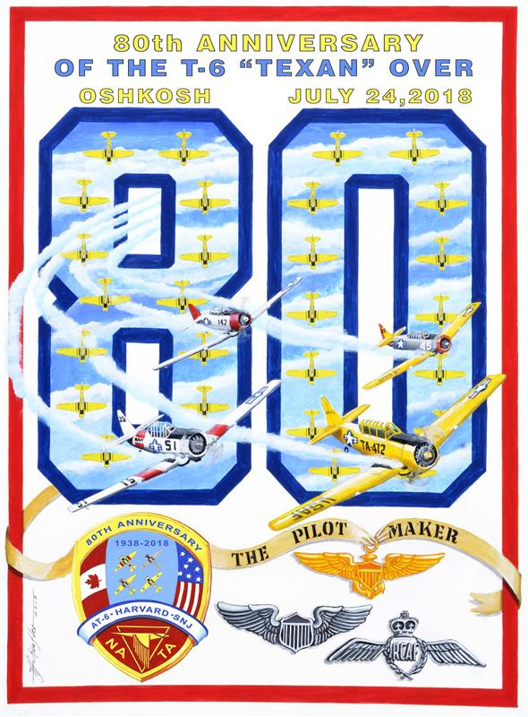 80th Anniversary Poster