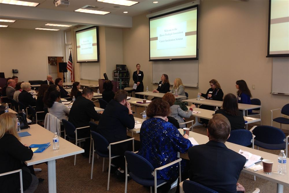 Career Acceleration Seminar at the College of Lake County in Vernon Hills