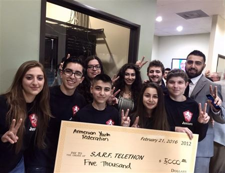 During the SARF Telethon, our Juniors made a humble contribution to help our brothers and sisters in Syria.