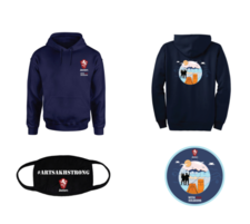 Sweater/Sticker/Mask Combo  - click to view details