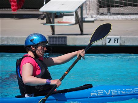 WKC and Portland Kayak Polo play in San Francisco, April 2018