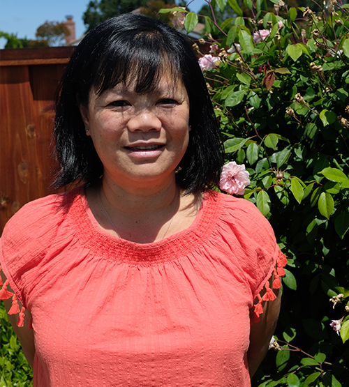 Club Manager Marie Wong