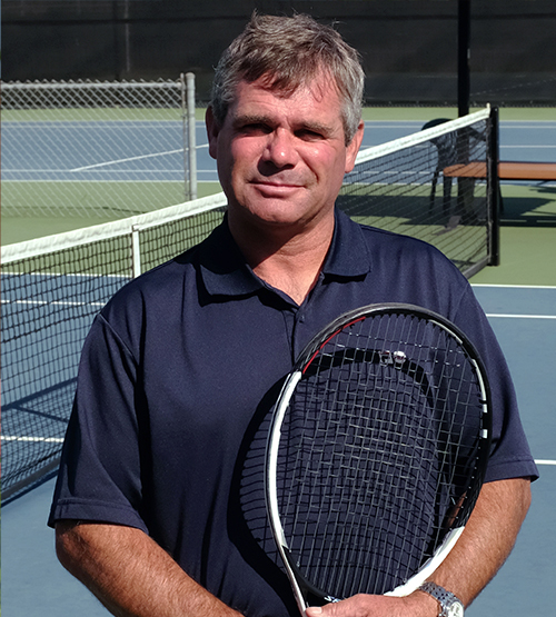 Club Tennis Pro Brian Garrow